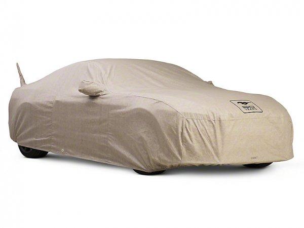 Covercraft Deluxe Custom-Fit Autoabdeckung - 50th Anniversary Logo (15-20 Cabrio) C17826-TT-FD56