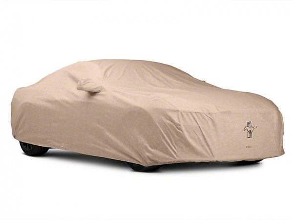 Covercraft Deluxe Custom-Fit Autoabdeckung - Tri-Bar Pony Logo (15-21 Fastback) C17794-TT-FD-27