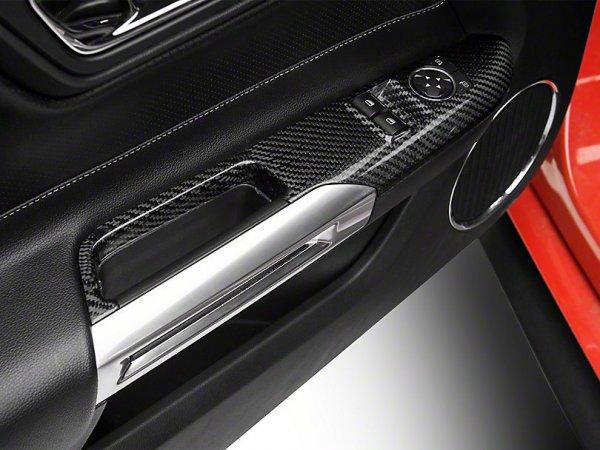 Trufiber Carbon Fiber Fenster Schalterabdeckungen (15-20 Fastback) TC10026-LG240