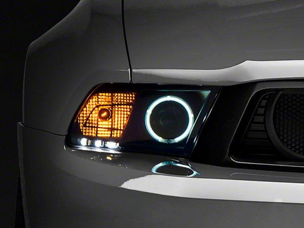 Raxiom Scheinwerfer schwarz - CCFL Halo (10-12 GT, V6) 101685