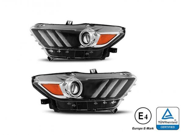 D3S Headlights with EU Approval - Set (MUSTANG 15-17 USA)