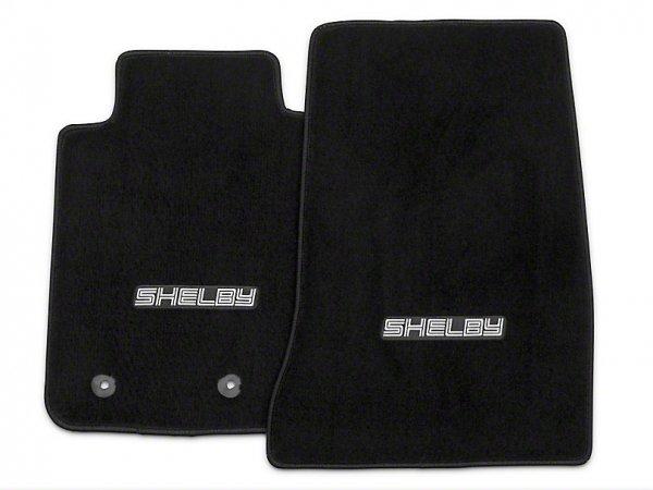 Lloyd vordere Fußmatten mit Shelby Logo - schwarz (15-21 All) S1172701