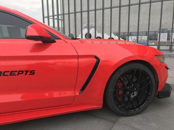 MP Concepts Kotflügel im GT350 Style LINKS - unlackiert (15-17 All)