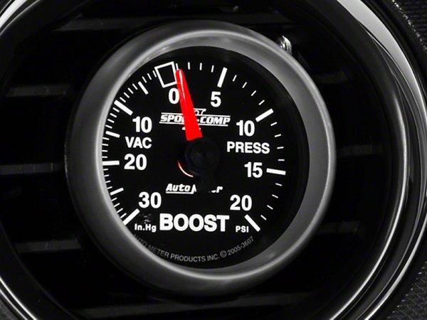 Auto Meter Sport Comp II 20 PSI Ladedruck - mechanisch (79-20 All) 3607