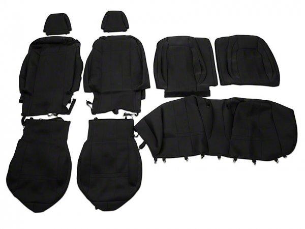 Caltrend Neosupreme Vorder- und Rücksitzbezüge - Schwarz (15-20 Fastback) FD471