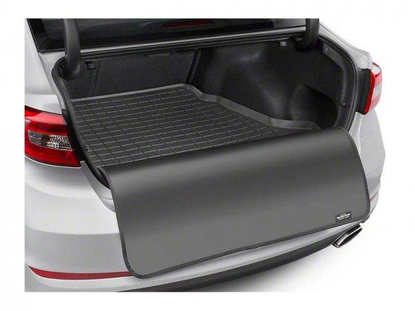 Weathertech DigitalFit Kofferraumschale mit Ladekantenschutz - Schwarz (05-14 Coupe) 40534SK