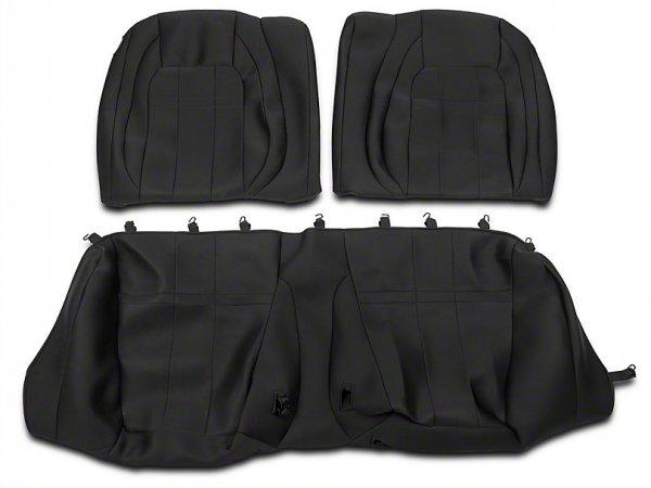 Caltrend Neosupreme Rücksitzbezüge - Schwarz (15-21 Fastback) FD472