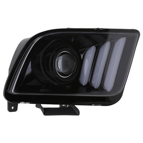 DRL Scheinwerfer S550 Style matt oder glossy black (05-09 All)