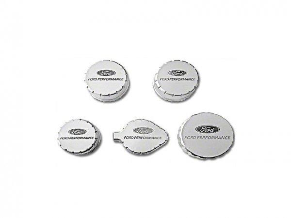 Ford Performance Billet Aluminium Motordeckel (15-17 GT, 15-21 GT350) M-6766-M50