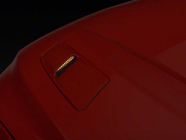Axial Motorhaubenleuchten als Blinkersatz - Gelbe LED (15-17 GT) 390293
