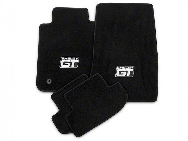 Lloyd vorne und hinten Fußmatten mit Shelby GT Logo - schwarz (15-20 All) S1174731
