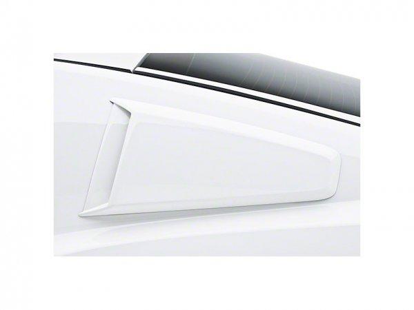 3dCarbon Type II Fenster Abdeckungen Scoops - unlackiert (10-14 All) 691629