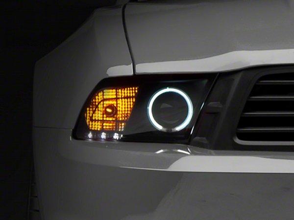 Raxiom Smoked Projector Scheinwerfer - CCFL Halo (10-12 GT, V6) 49108