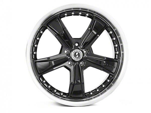 Shelby Razor schwarze Felge - 20 x 9 / 10 (15-21 GT, EB, V6)