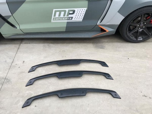 MP Concepts GT500 Style Gurney Flap - unlackiert (15-21 All Fastback)
