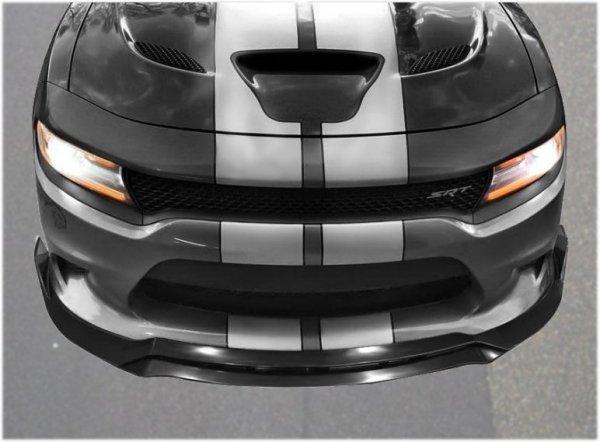IKON Motorsports V3 Style Front Splitter (CHARGER 15-21 SRT)