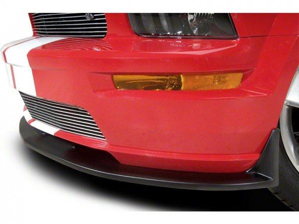 Cervinis Type 3 Front Spoiler - Textured Black (05-09 GT) 4339-FTB