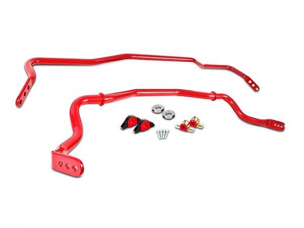 BMR einstellbare Sway Bars vorne und hinten - Rot (15-21 All) SB043R
