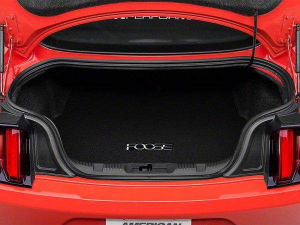 Kofferraummatte mit FOOSE Logo - schwarz (15-20 All) 387609