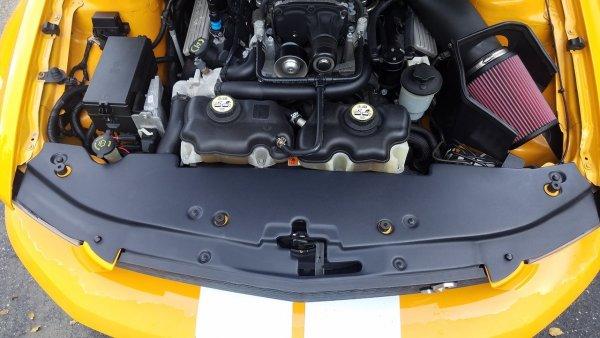 JLT Kühlerhalterung - volle Länge (07-09 GT500) JLTRSC-GT500-07-2