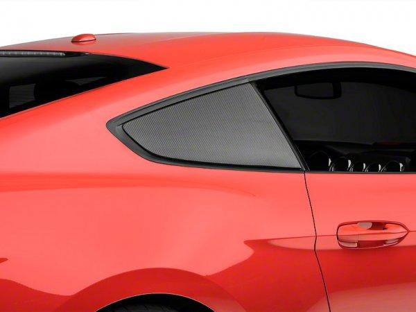 Anderson Composites Viertelfensterabdeckungen - Carbon (15-21 All) AC-WL15FDMU-F