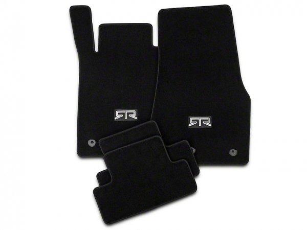RTR vorne und hinten Fußmatten mit RTR Logo - Schwarz (13-14 All) FF118201