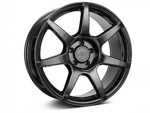 GT350R Style Schwarze Felge - 19x8,5 / 10 (15-20 GT, EB, V6)