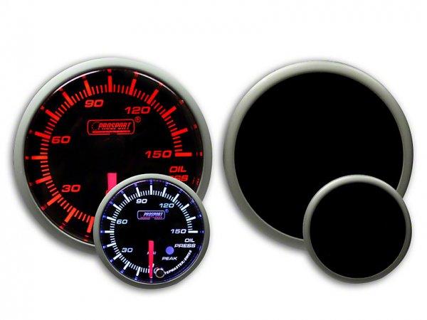 Prosport Dual Color Premium Öldruckmesser 0-150 PSI - Gelb / Weiß (79-21 All) 238SMOPSWL270-PK.PSI