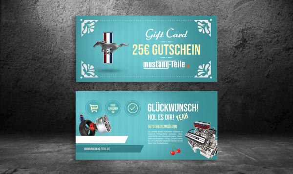 Exklusiver Geschenkgutschein - Blau