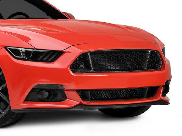 Anderson Composites Type-GT Oberer Grill - Carbon (15-17 GT, V6) AC-FG15FDMU-GT