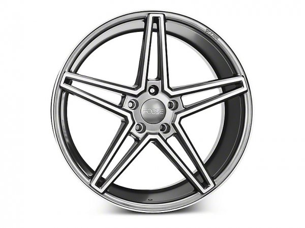Foose Anthrazit Felge - 20x 9 / 10 (15-20 GT, EB, V6)
