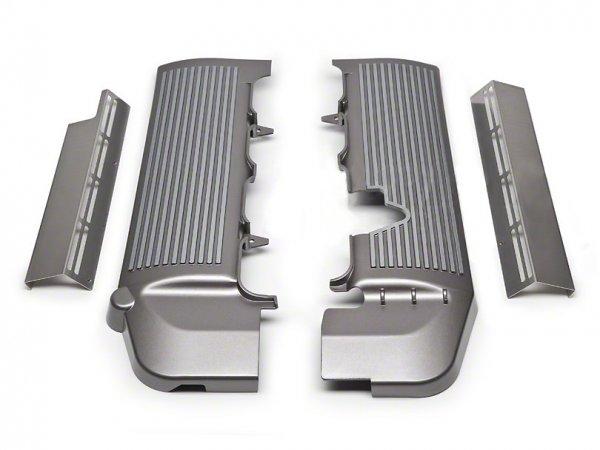 Motorabdeckung Titanum Silber (05-10 GT)