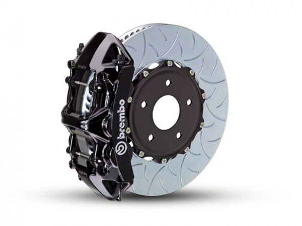 Brembo GT Series 6-Kolben-Bremsanlage Vorn - Typ 3 Rotoren - Schwarz (15-20 EB V6) 1L3.8009A1K