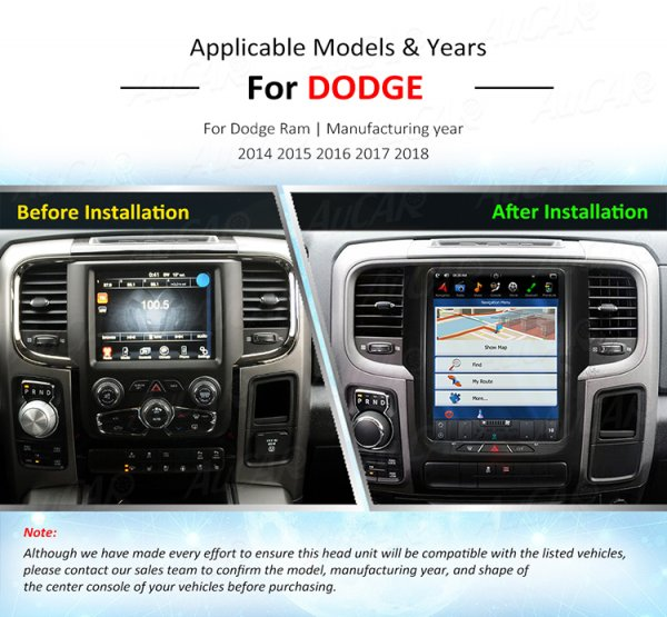 12,1 Zoll Bildschirm Tesla Style Navigation GPS Radio Android 6.0 (14-18 RAM 1500)