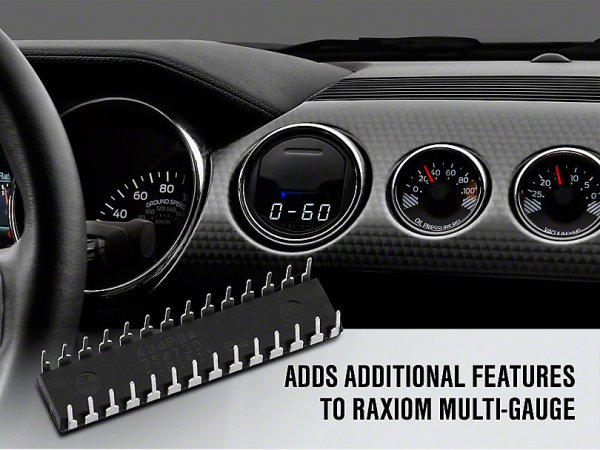Raxiom Track Pack Software Upgrade für Multi-Anzeige (15-20 All) 390887