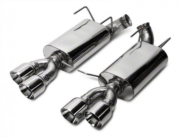 Kooks Performance Auspuff mit Quad Tipps (13-14 GT500) 11436200