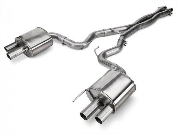 Corsa Xtreme 3 in. Cat-Back Auspuff (15-20 GT350) 14348