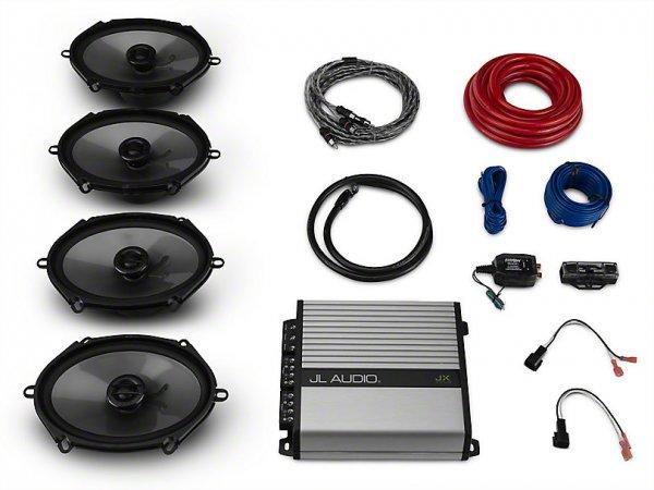 Raxiom by JL Audio Basis Stereo Upgrade Kit (15-21 mit Base Stereo) 393865