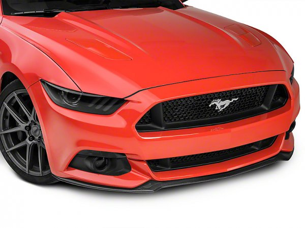 Anderson Composites Typ-OE Front Chin Splitter - Carbon (15-17 GT, EB, V6) AC-FL15FDMU-AO