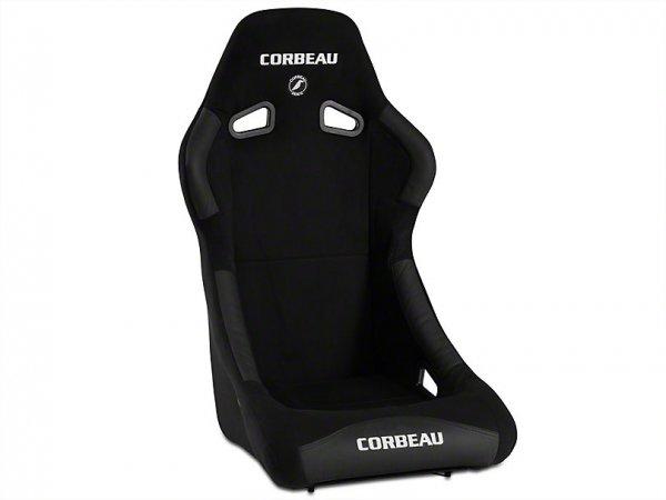 Corbeau Forza Sitz - Schwarz Microsuede (79-20 All) S29101