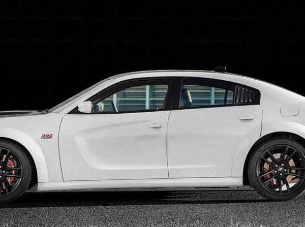 IKON Motorsports Viertelfenster Abdeckung Scoops (CHARGER 11-21 SRT)