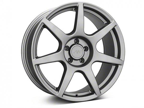 GT350R Style Anthrazit Felge - 19x8,5 / 10 (15-21 GT, EB, V6)
