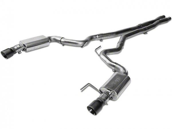Kooks Cat-Back Auspuff mit X-Pipe - Black Tips (15-17 GT) 11514111