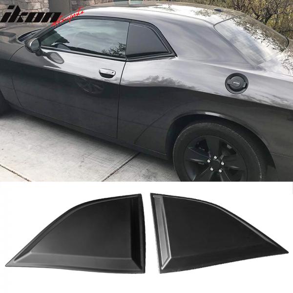 IKON Motorsports Fenster scoops XE-Style (Challenger 08-19)
