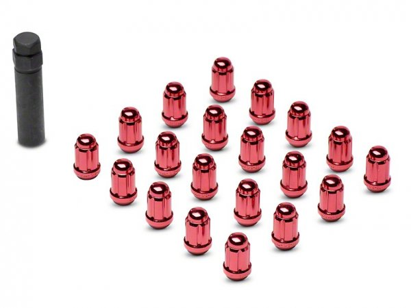 Rot 6 Spline Radmuttern - 1/2 x 20 (15-21 All)