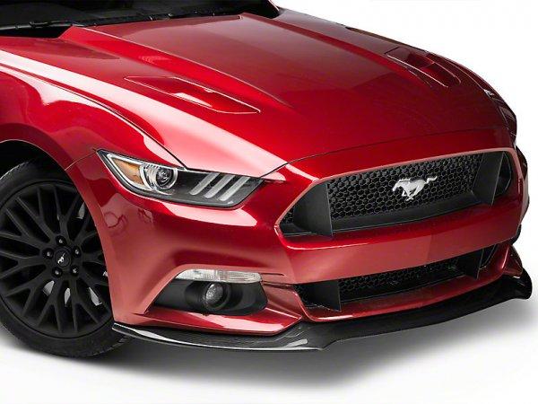 Anderson Composites Typ-AC Front Chin Splitter - Carbon (15-17 GT, EB, V6) AC-FL15FDMU-AC