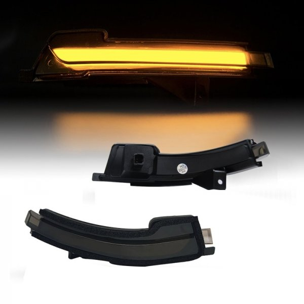 LED Dynamic Mirror Turn Signal Light Flowing Water (15-17 All)
