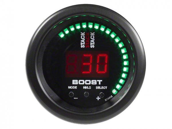 Auto Meter Stack Boost Controller Anzeige - Schwarz (79-21 All) ST3412