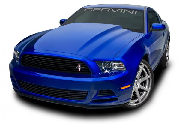 Cervinis Cobra R Motorhaube - unlackiert (13-14 GT, V6, GT500) 1210