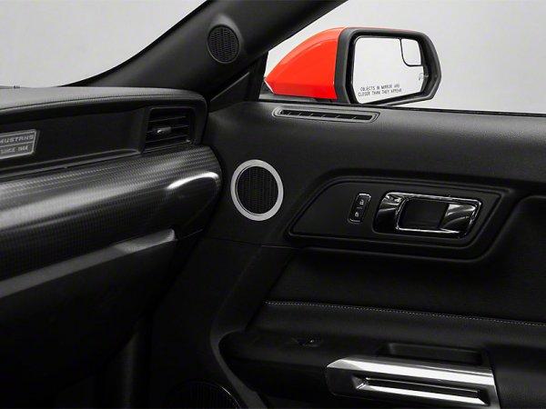 Polierte Midrange-Lautsprecher-Zierringe (15-20 GT) 389291